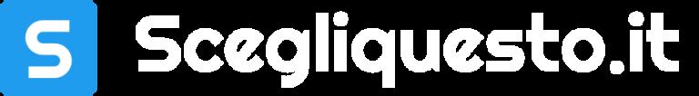 Scegliquesto.it logo bianco