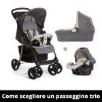 Come scegliere un passeggino trio: guida completa per genitori!