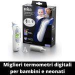 Termometri digitali per bambini e neonati